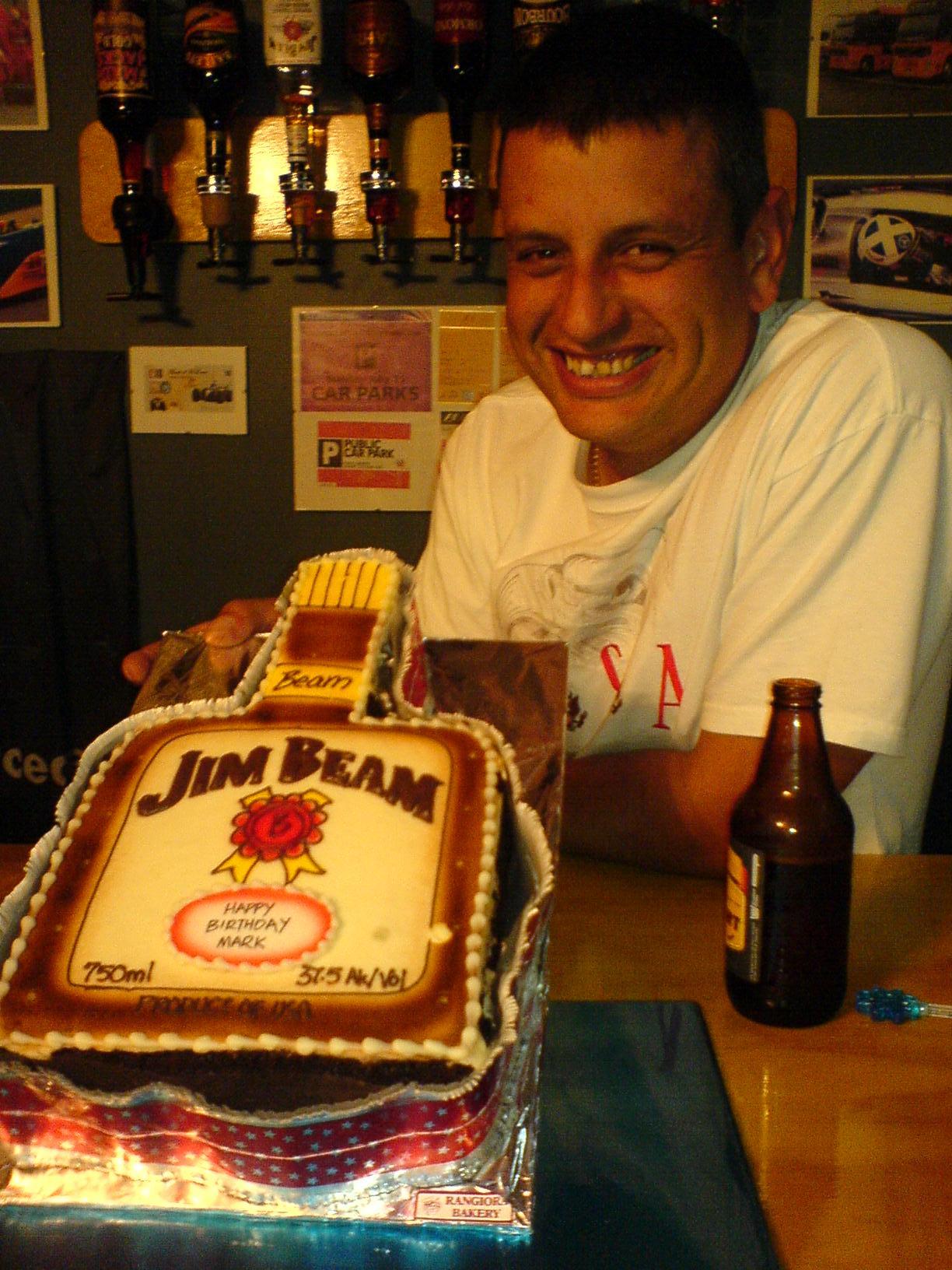 Jim Beam Cake Topper