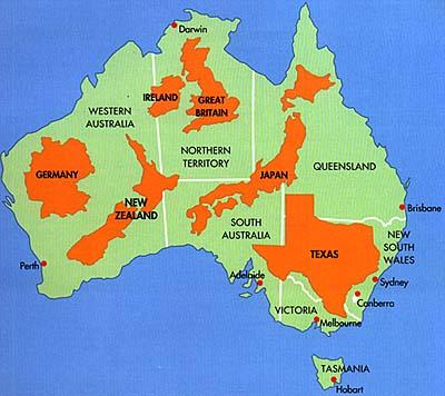 aussie map mapcomparisonsjpg