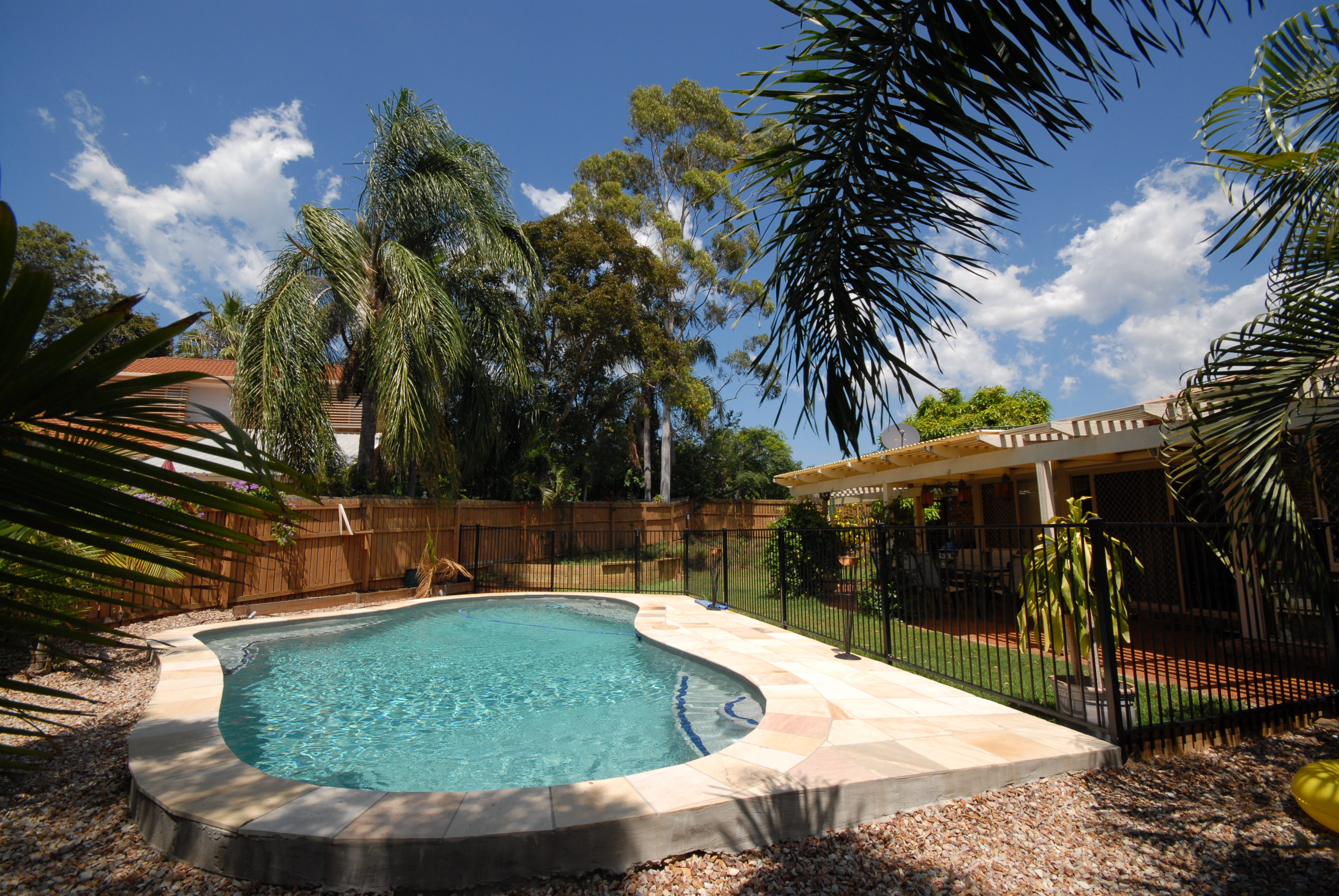 Recommendations for a pool builder in brisbane british for Pool show brisbane