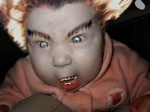 Crazy mean baby   -cra...