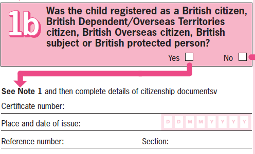 Urgent Help Filling Out C2 Uk Passport Renewal Form British Expats