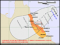 Tropical Cyclone Dylan - Northern Queensland-idq65001-track-map-1046-29012014.png