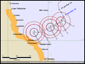 Tropical Cyclone Debbie,  North Queensland-track-map-3-240317.png