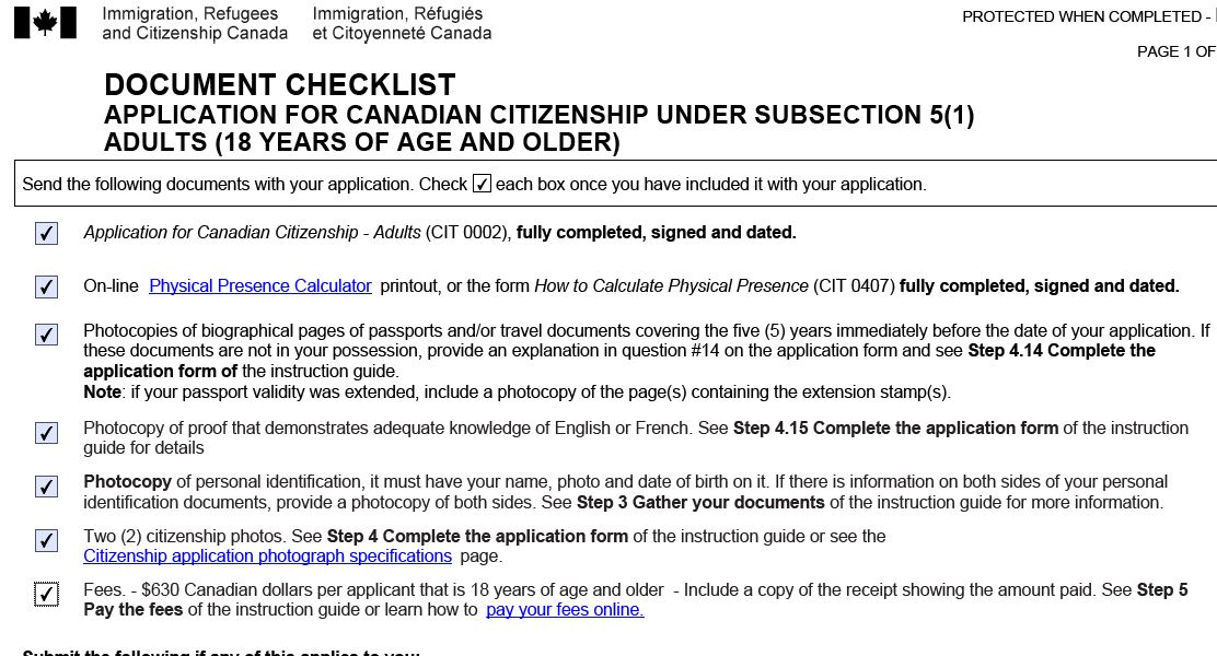 Citizenship  Guide Vs Document Checklist  British Expats