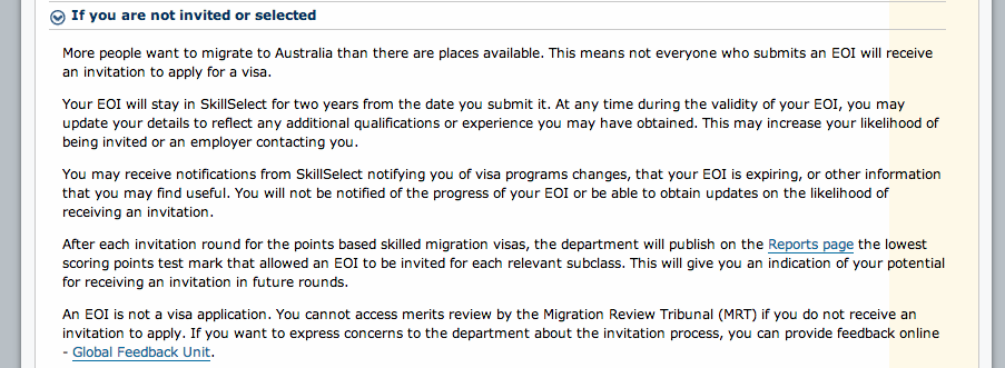 Not getting an invitation to apply what to do british expats not getting an invitation to apply what to do screen shot 2013 stopboris Images