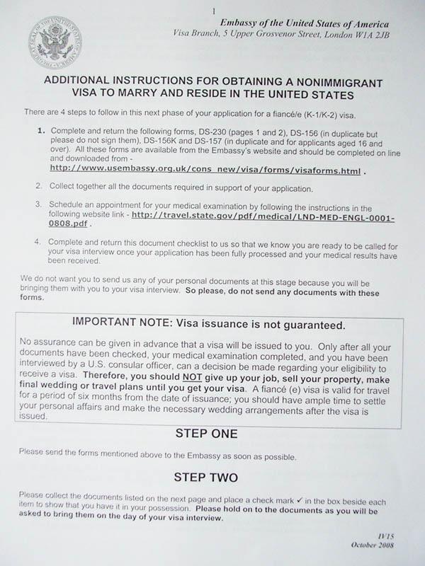 Packet 3 visa app package what to return british expats packet 3 visa app package what to return visaapppackagep1web spiritdancerdesigns Gallery