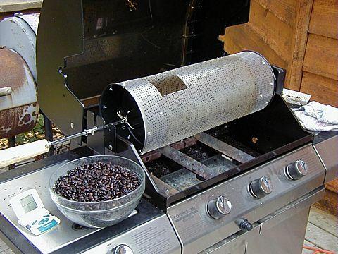 Bbq Coffee Roasting Drum