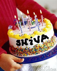 shiva british expats on birthday cake name shiva