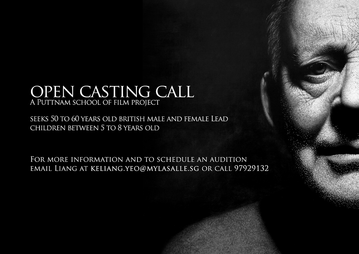 Open Casting Call For Film Project Poster