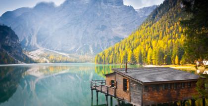 Remote Lake Cabin